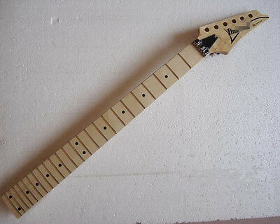 electric guitar neck maple fingerboard 24fret