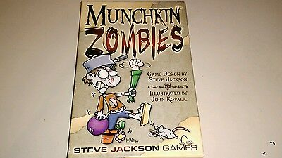 Munchkin Zombies from Steve Jackson Games 100% COMPLETE LIKE NEW