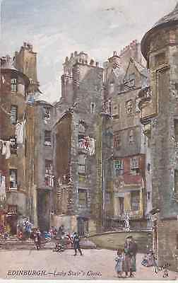 Old postcard of Lady Stair's Close, Edinburgh
