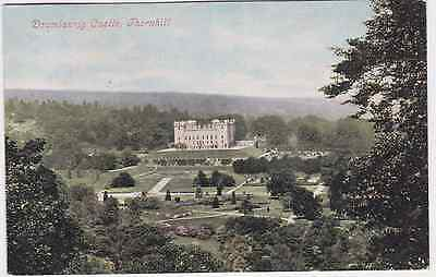 Old postcard of Drumlanrig Castel, Thornhill