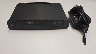 Cisco 837 ADSL Broadband Router 4port wired CCNA CCNP no power supply