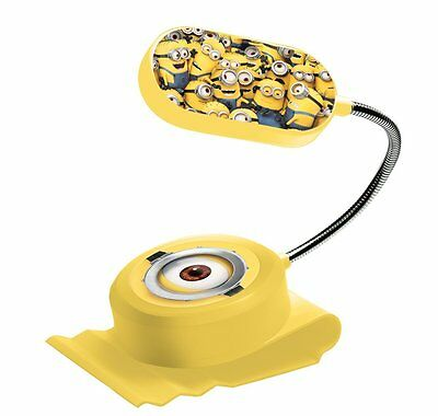 Childrens Minions Clip on Bed Light Battery Powered Night Light