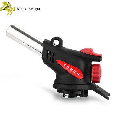 Portable Auto Ignition Gas Torch Flame Gun Butane Burner for Camping Welding BBQ