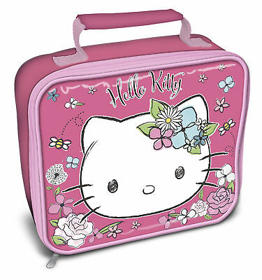Girls Hello Kitty Insulated Lunch Nursery Bag