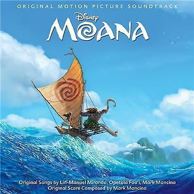 Moana Disney BRAND NEW SEALED CD Dwayne Johnson
