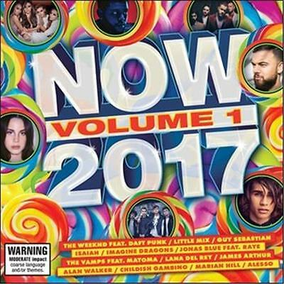 NOW Volume 1 2017 BRAND NEW SEALED CD