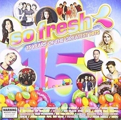 So Fresh 15 Years Of The Greatest Hits 2015 BRAND NEW SEALED 2CD