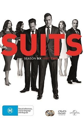 Suits Season 6 Part 2 BRAND NEW SEALED R4 DVD