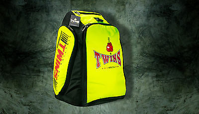 Twins Special Thai Boxing BAG Yellow Color from Thailand