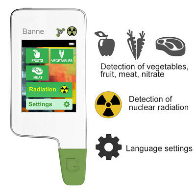 Greentest Eco portable Radiation and Nitrate 2in1 detector