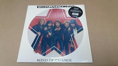 """Scorpions - Wind Of Change 12"""" Picture Disc White Vinyl"""