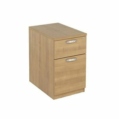 Avior 2 Drawer Mobile Pedestal Ash, W435 x D600 x H650mm [KF72291]