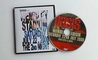 OASIS LIVE at WEMBLEY STADIUM 22.07.2000 - THE 2nd NIGHT   DVD