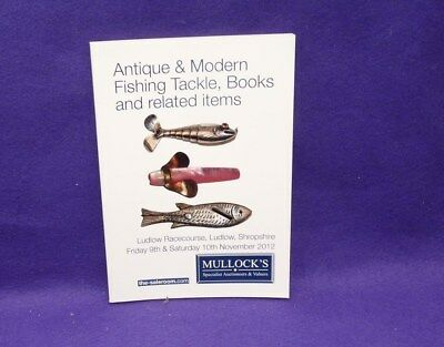 Mullocks vintage fishing catalogue 2012 Gregory & Mother of Pearl hardy lures