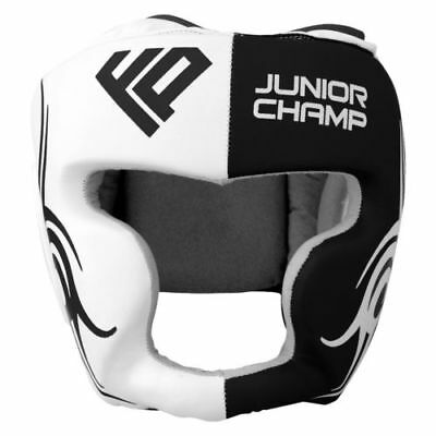 FP Kids Head Guard Junior Helmet Kick Boxing MMA Martial Arts Children Training
