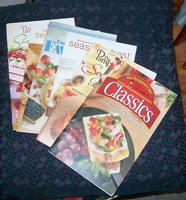 lot of 6 The Pampered Chef cookbooks (list in description)