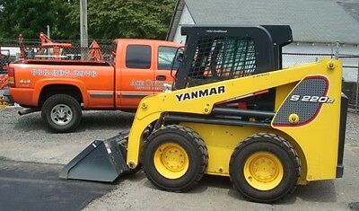 Used Yanmar Skid Steer S220-R1 Low Hours, Runs Great, Cab W Heat And Air