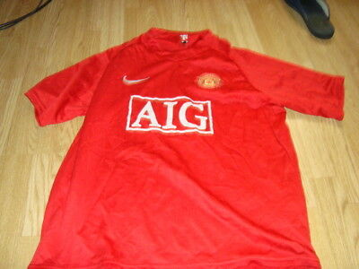 maillot foot manchester united cristiano ronal cr7   taille m-l