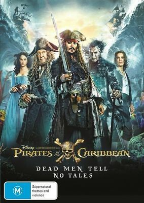 Pirates Of The Caribbean 5 Dead Men Tell No Tales BRAND NEW SEALED R4 DVD
