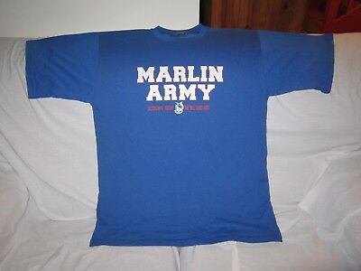 Manly Marlins Marlin Army Cotton Shirt Size Xl