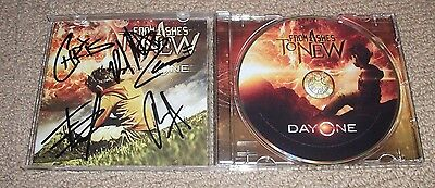 From Ashes to New - SIGNED Day One CD *COMPLETE BAND AUTOGRAPHED*