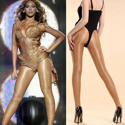 Women 70D Tights Shiny High Gloss Lingerie Dancer Hooters Pantyhose Eager