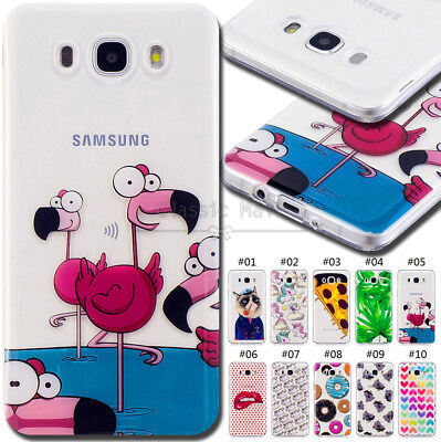For Samsung Galaxy J5(2016) Rubber Soft Cover Shockproof Case Silicone TPU Back