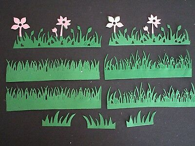 Die Cuts   Grass & Flowers