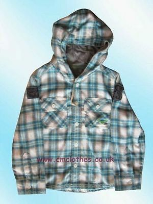 Boys' Shirt with a Hood 12-18 Months Cherokee Tesco New with Tags
