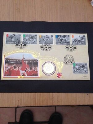 1966 World Cup Memorbillia Coin Stamps Nice