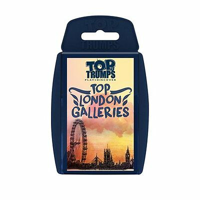 Top Trumps Top London Galleries Card Game
