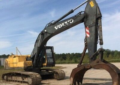 2005 Volvo Ec240blc Excavator with grapple