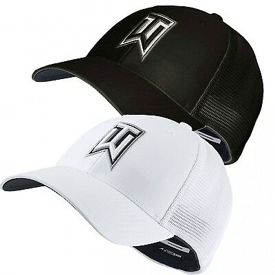 New Nike Golf 2016 TW Tiger Woods Legacy91 Tour Mesh FlexFit Fitted Cap Hat