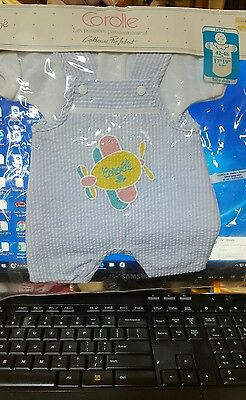 """New Corolle just Hamill money bebe Baby Doll Clothes Outfit Set 17-18"""" boy"""
