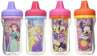 The First Years Disney Insulated Sippy Cup, Minnie and Princess, 9 Ounce...