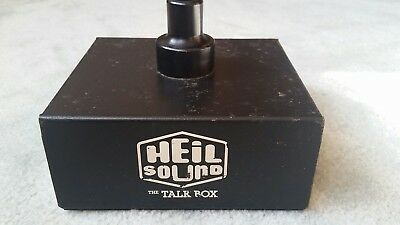 Vintage Heil Sound The Talk Box Model HT-1 w/original tube and cords RARE