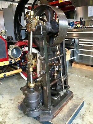 Ca. 1880 Ex Henry Ford Museum Twin Cylinder Inverted Steam Engine