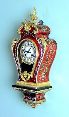PRETTY BOULLE WALL CLOCK- Small size and of superior quality