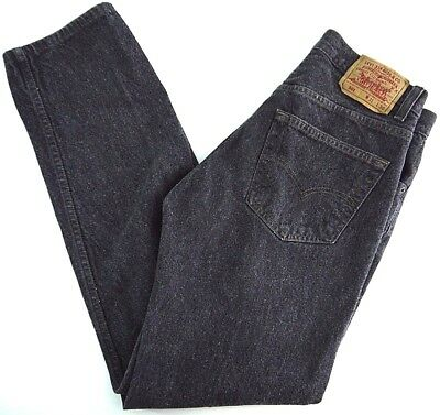 VINTAGE LEVIS 501-0658 XX denim jeans mens 31x30 gray wash MADE IN USA