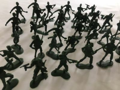 Green Colour Plastic Toy Soldiers Army Party Military War Games Children Toys