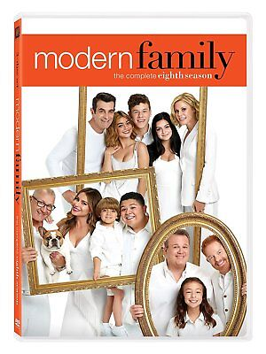 Modern Family: The Complete Eighth Season 8 (DVD, 2017, 3-Disc Set) New