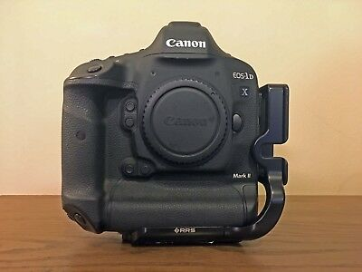Canon Eos 1Dx Mark Ii Camera With Wifi Adapter, Cfast Cards, Extra Battery, More