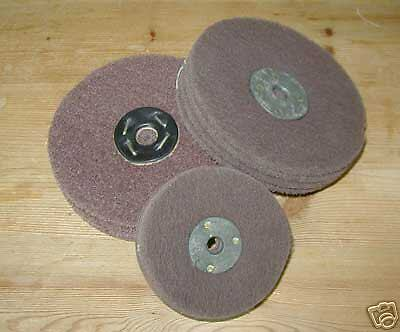"8""x  2"" wide coarse lap   scotch abrasive cleaning  mop"