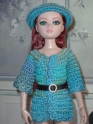 Handcrafted Long Sweater & Hat Tonner Ellowyne Amber Lizette