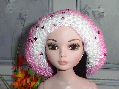 Handcrafted Slouch Doll Hat Tonner Ellowyne Amber Lizette Sequined