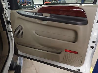 05 06 07 FORD F350 SD: Right Front Passenger Door Trim Panel; Tan 8H