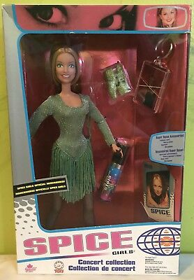 """Spice Girls Concert Collection Geri Aka """"Ginger Spice"""" Doll"""