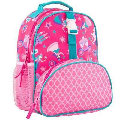 Personalized Stephen Joseph All Over Print Princess Small Backpack