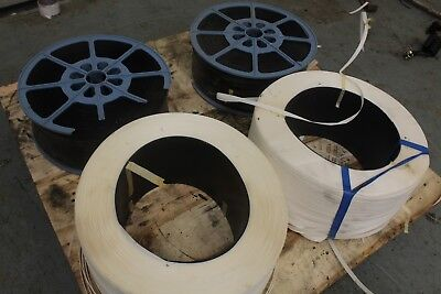 job lot of 4 roll of pallet banding RRP £30.00 each!