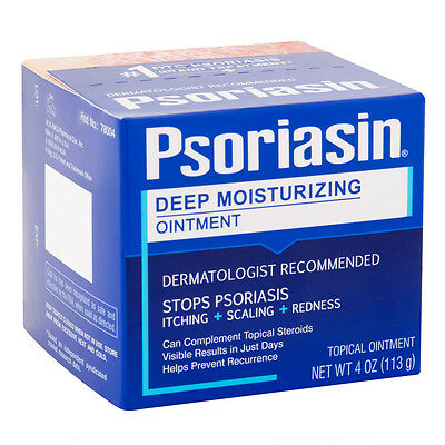 Psoriasin Multi-Symptom Psoriasis Relief Ointment 113g (4 oz) New Packaging